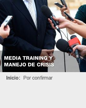 Media Training y Manejo de Crisis